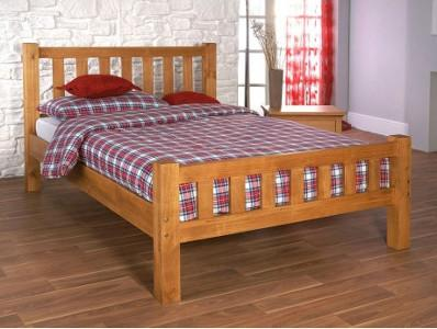 Austin Oak Wooden Bed Frame
